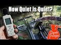 How To Quiet Your Crossbow