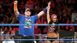 Nonton John Cena and Nikki bella vs The Miz Maryse WWE Smackdown 28 February 2017 Full show Film Subtitle Indonesia Streaming Movie Download