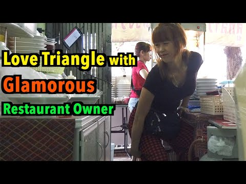 A Stunning Restaurant Owner in Thailand Part 2, She prayed to Buddha for her wish to be my Love