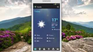 1Weather:Widget Forecast Radar YouTube video