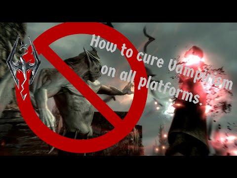 SKYRIM SPECIAL EDITION How to cure Vampirism for ALL PLATFORMS