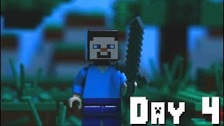 LEGO Minecraft Survival Day 4 (Stop Motion Animation)