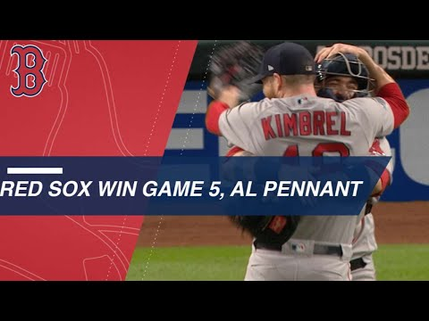 Video: Red Sox top Astros in Game 5 of ALCS to win pennant