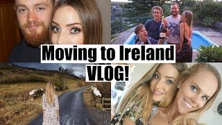 I'VE MOVED TO IRELAND EVERYBODY!! And finally this vlog is live!! It took me soo long to edit as I had so much footage, so I really hope you guys enjoy it!