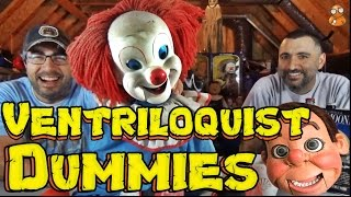 VENTRILOQUIST DUMMY COLLECTION!! | The ATTIC DWELLERS