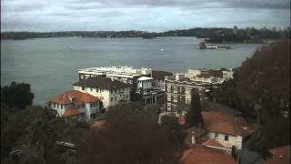 Sydney Webcam Time Lapse for Sun, 19th April 2015