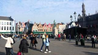Plaza de Brujas, Bélgica