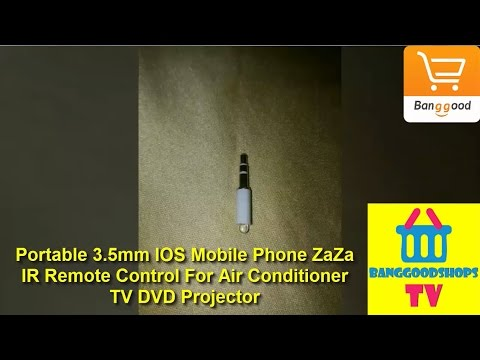 Portable 3 5mm IOS Mobile Phone ZaZa IR Remote Control