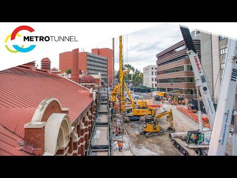 Metro Tunnel - A'Beckett Street Transformation