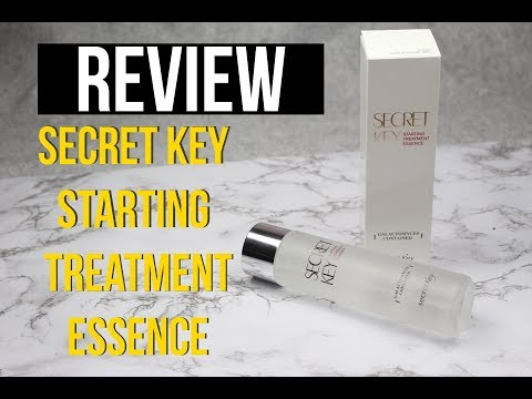 REVIEW Sercet Key Starting Treatment Essence | Abbytelera