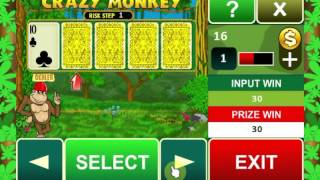 Crazy Monkey slot machine Видео YouTube