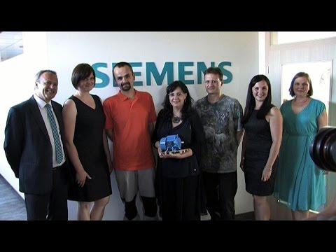 Náhled - Ministryně Marksová podpořila projekt Restart@Siemens