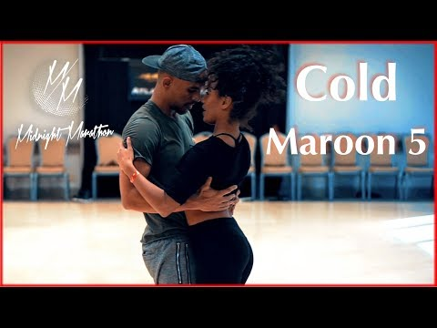 Download Maroon 5 - Cold ft. Future | Dance | Kuna Malik Hamad & Julissa | Brazilian Zouk | Midnight Marathon MP3