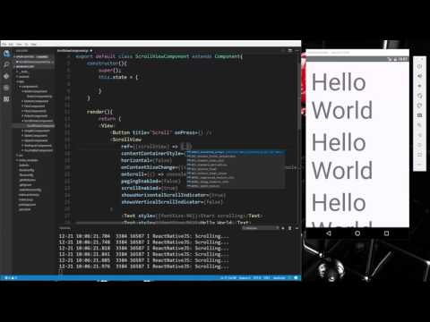 Learn about Components and input controls in React Native - Part 6