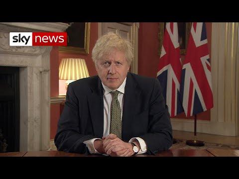 In full: PM Boris Johnson makes TV address announcing new England lockdown