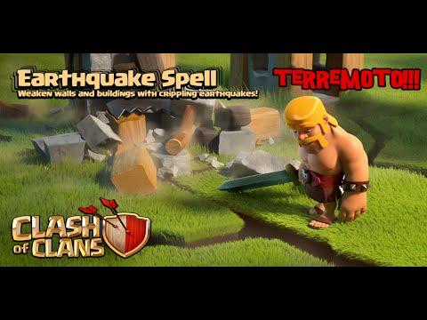 ¡¡ NUEVO HECHIZO DE TERREMOTO !! | Sneak Peek 4 | Actualización de junio 2015 | Clash of Clans
