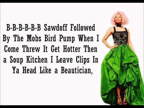 Nicki Minaj- Brraatt Lyrics