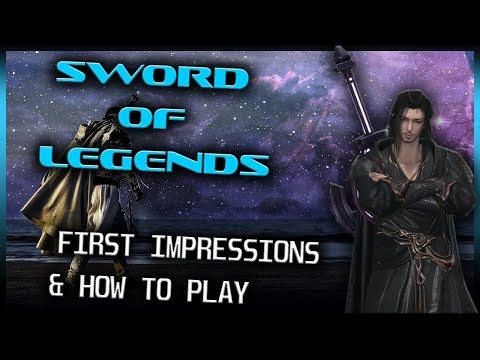 SWORD OF LEGENDS First Impressions - (CN Version) Wuxia MMORPG Features|Gameplay [1080p]