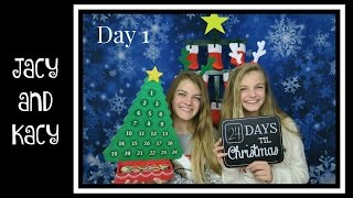 Nonton Christmas Countdown 2016 ~ Day 1 ~ Jacy and Kacy Film Subtitle Indonesia Streaming Movie Download