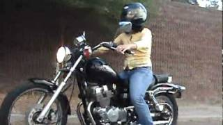 10. My wife riding our 2007 Honda Rebel (Steppenwolf - Born to be Wild)