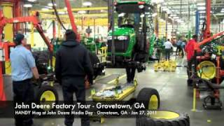 Grovetown (GA) United States  city photos gallery : John Deere Factory Tour Grovetown GA
