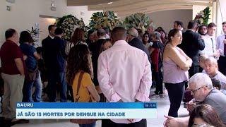 Bauru registra mais 2 mortes suspeitas de dengue, já são 15
