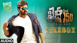 Nonton Khaidi No 150 Jukebox    Megastar Chiranjeevi  Kajal Aggarwal  Devi Sri Prasad   Telugu Songs 2017 Film Subtitle Indonesia Streaming Movie Download