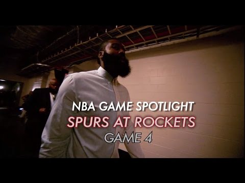 NBA Game Spotlight: Spurs at Rockets Game 4