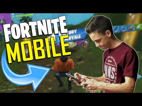 FAST MOBILE BUILDER on iOS / 400+ Wins / Fortnite Mobile + Tips & Tricks!