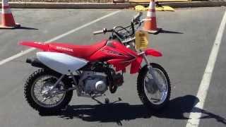 9. Contra Costa Powersports-Used 2012 Honda CRF70 auto-clutch kids trail bike motorcycle