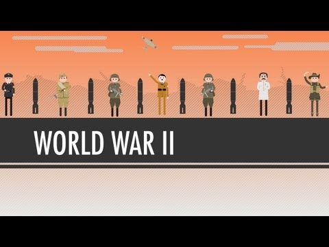 WWII - Crash Course World History is now available on DVD! Visit http://dft.ba/-CCWHDVD to buy a set for your home or classroom. In which John Green teaches you abo...