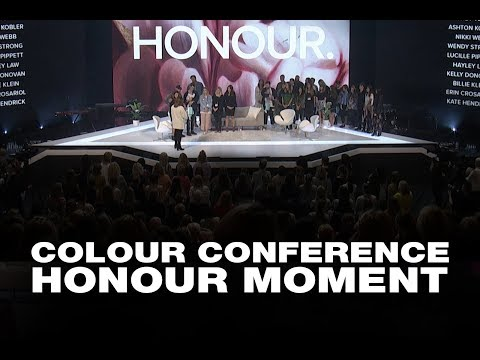 Colour Conference 2017 Honour Moment - HIllsong UNITED Wives