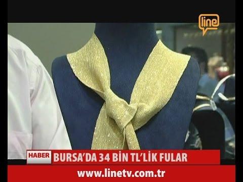 Bursa'da 34 Bin TL'lik Fular  -09 Temmuz 2015-