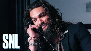 SNL Host Jason Momoa Is the Ultimate NBC Page