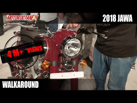 Download 2018 Jawa Launched | Walkaround Review | Hindi | MotorOctane HD Mp4 3GP Video and MP3