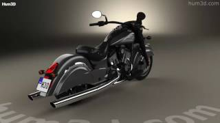10. Indian Chief Dark Horse 2016 3D model by Hum3D.com