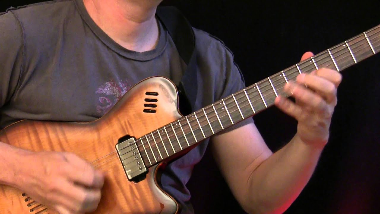 Guitar Lesson : Advanced Rock Soloing ( Aeolian & Phyrgian Mode )