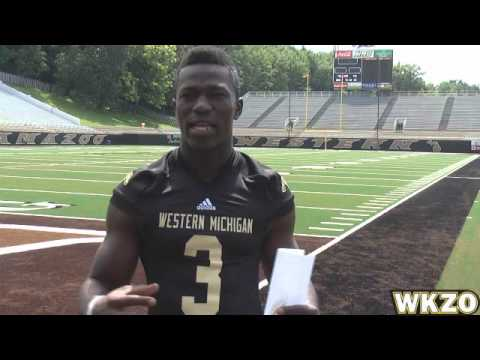 WMU LB Johnnie Simon from Media Day