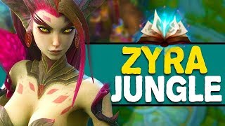 ZYRA JUNGLE IS A THING NOW?? Season 8 Jungle Gameplay