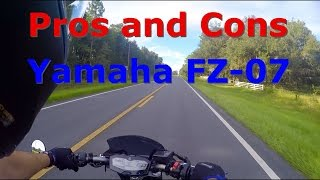 9. Yamaha FZ-07 Pros and Cons REVIEW! FZ-07/MT-07 by Yamaha