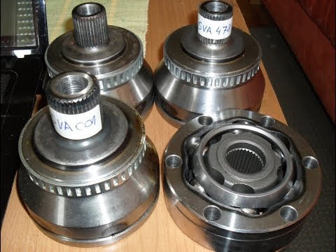 How to CV joint replace Audi 80 B4 2.0E 1.part