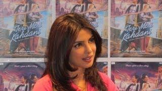 Priyanka Chopra at Teri Meri Kahaani's Press Conference in London