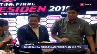 Video Mantan Aktor Gusti Randa Ditunjuk Jadi PLT Ketua Umum PSSI - iNews Pagi 20/03 MP3, 3GP, MP4, WEBM, AVI, FLV Maret 2019