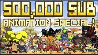 Video 500,000 Subscribers Animation Special!! MP3, 3GP, MP4, WEBM, AVI, FLV Februari 2019