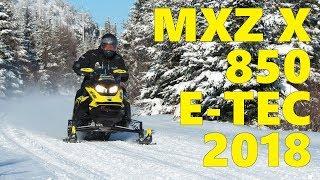 3. Ski-Doo MXZ X 850 E-TEC 2018 - Premières impressions