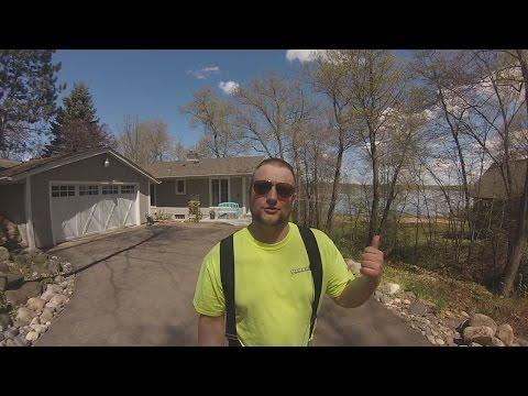 Дом в Америке на озере. Миннесота (видео)