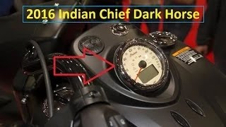 3. 2016 Indian Chief Dark Horse - NEW for 2016