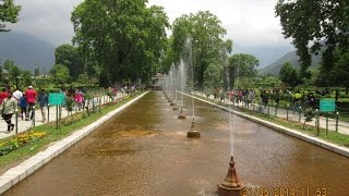 Bagh India  city pictures gallery : Full HD Video Of Shalimar Bagh, Srinagar, Kashmir, India