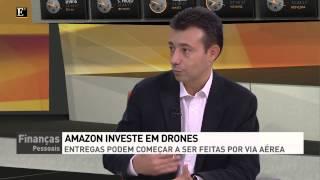 AMAZON Prepara-se Para Utilizar Drones (robots) Para Entregar Encomendas