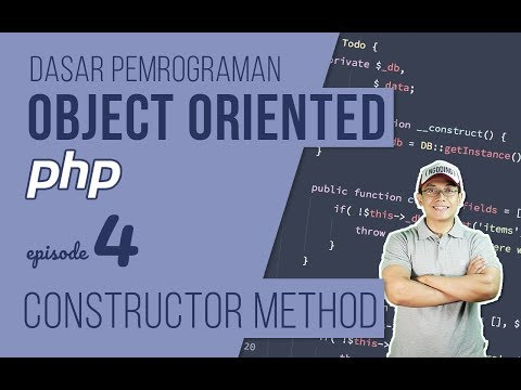 OOP DASAR pada PHP #4 - Constructor